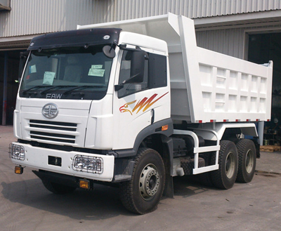FAW 20-30 ton dump truck for sale
