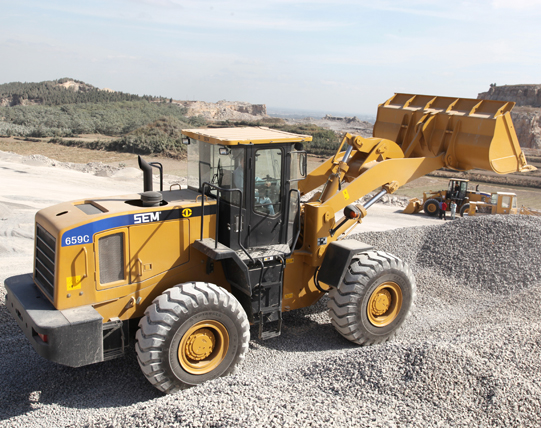 SEM Wheel loader 659C