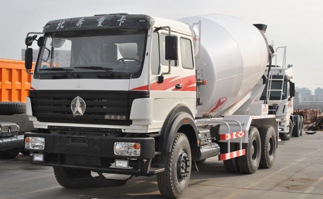 Beiben 6x4 Concrete Mixer Truck cement mixer truck