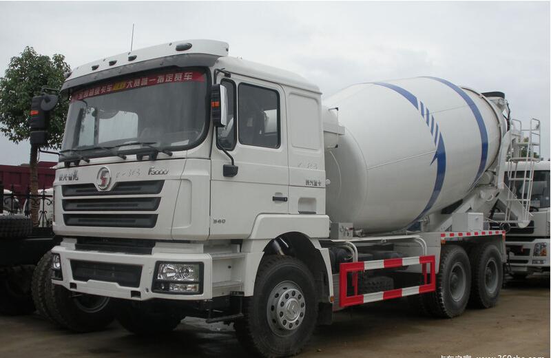 Shacman Dlong 6x4 Euro3 8m3 Concrete Mixer Truck