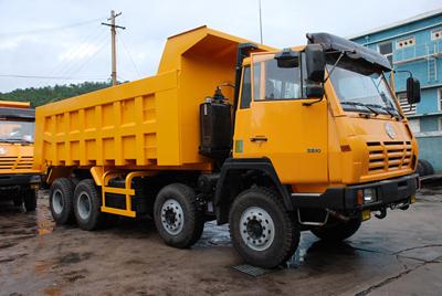 Shacman Dumper Trucks Olong(Steyr) 8x4 Dump truck Euro2