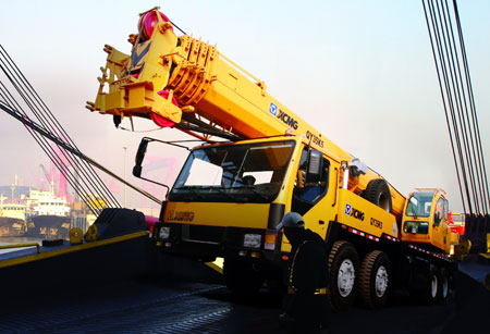 XCMG Crane QY35K5 truck mounted crane From China crane for sale in Dubai
