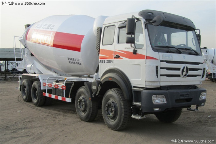 North Benz 6x4 concrete mixer truck Beiben mixer truck