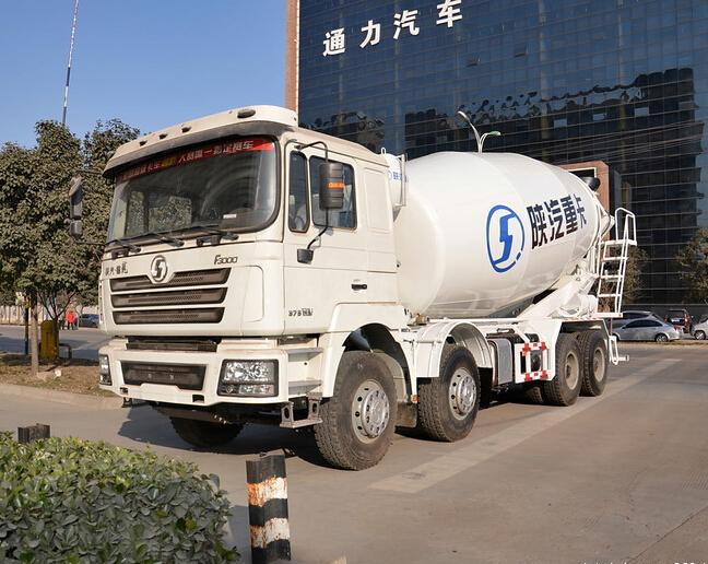 Shacman Dlong 8x4 Contrete Mixer 12m3