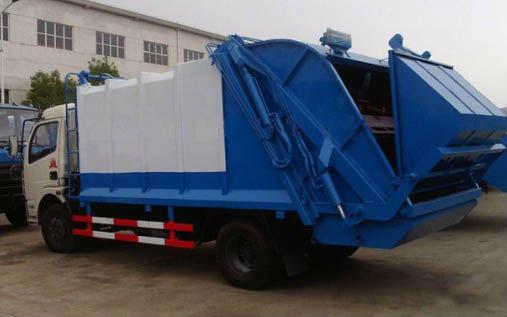sinotruck garbage truck